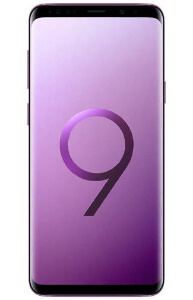 Samsung S9 Plus Purple Front