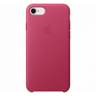 Iphone 7/8 Leather Pink Back Case
