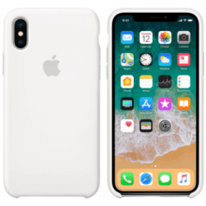 Apple iPhone X Silicone Cover Wit