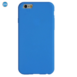 Youcase Rubber Case blauw iPhone 6/6s
