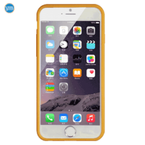 Youcase Rubber Case goud iPhone 6/6s