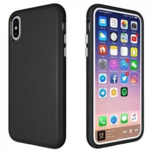 Youcase Dual Case iPhone X zwart