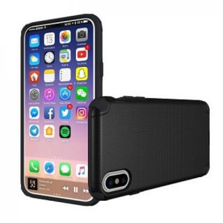 Iphone X Youcase Armor Black Front/Back Case