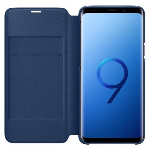 S9 View cover Blue Front/Back Case