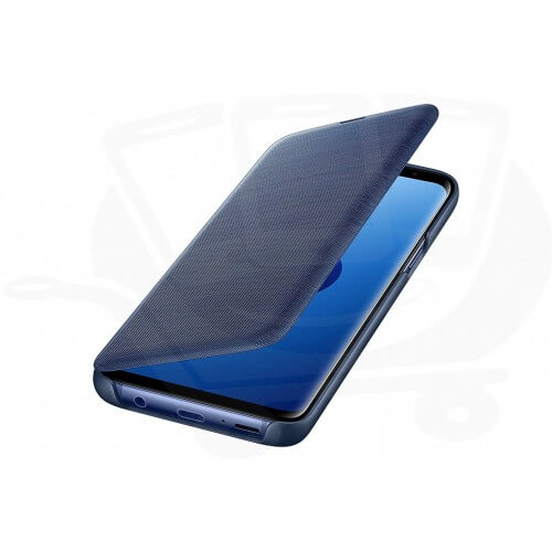 S9 View cover Blue Front/Side Case