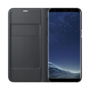 Samsung LED View Cover Zwart Galaxy S8+