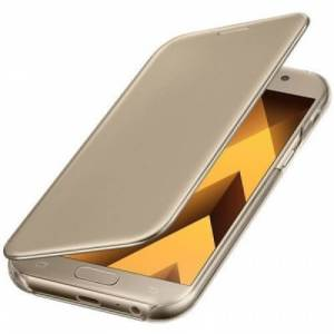 Samsung clear view cover goud galaxy A5 2017