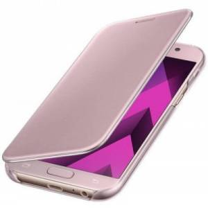 Samsung clear view cover roze galaxy A5 2017