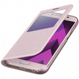 Samsung S view cover Roze Galaxy A5 2017