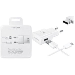 Samsung Fast charger (15W) travel adapter USB Type-C wit