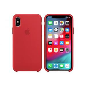 Apple Siliconen Back Cover voor iPhone X/XS Rood