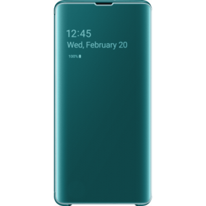 Samsung Clear View Cover Groen voor Samsung Galaxy S10 Plus