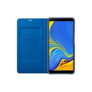 Samsung Galaxy A7 (2018) Wallet Book Case Blauw