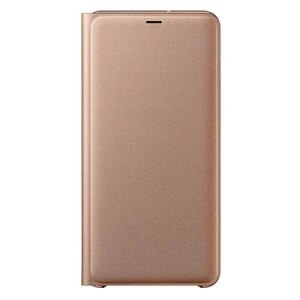 Samsung Galaxy A7 (2018) Wallet Book Case Goud