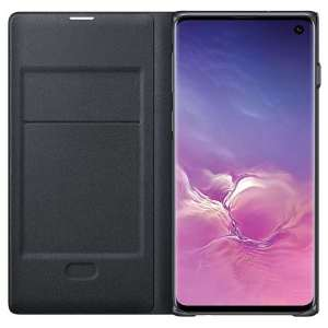 Samsung Galaxy S10 LED View Cover Zwart