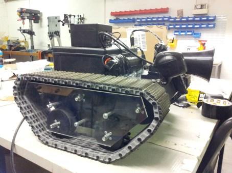 Robot in the workshop