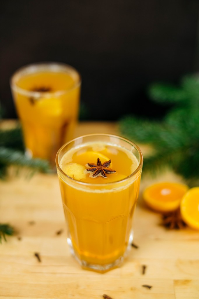 Weihnachts DIY - alkoholfreies Apfelpunsch Rezept