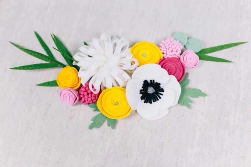 DIY Stoffblumen selber machen