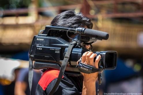 sulawesi toraja indonesia funeral ceremony cameraman
