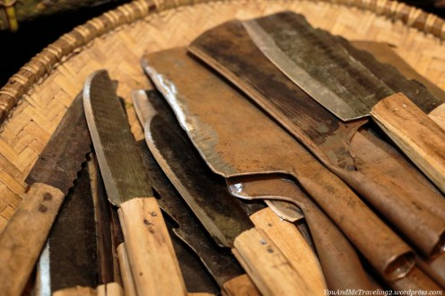 indonesia market knives