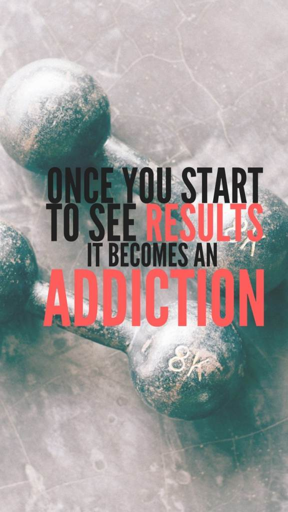 It becomes an addiction