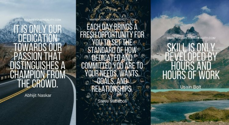 Dedication Quotes Cover Photo