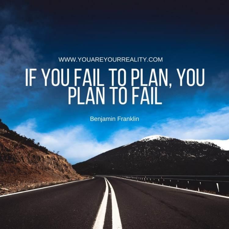 If you fail to plan yo
