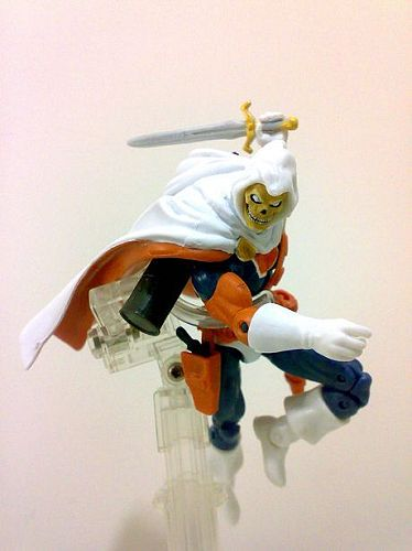 Loose Images Of New Marvel Universe Taskmaster Silver