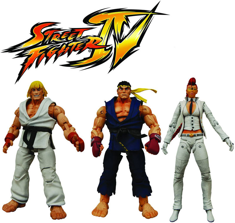 NECAs Street Fighter IV Survival Mode Color Action