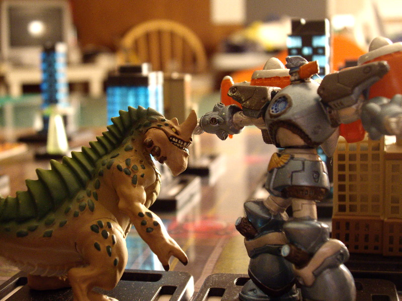 Chucking Dice Board Game Reviews - Monsterpocalypse By ...