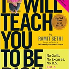 I Will Teach You To Be Rich by Ramit Sethi Book Review