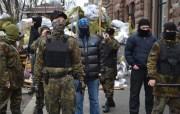 На «Третьем Майдане» произошло первое столкновение протестующих с полицией (Видео)
