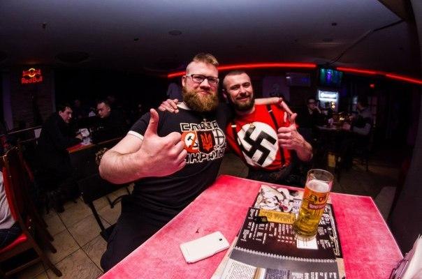 27 февраля в Киеве в скандально известном клубе BarHot прошла очередная русофобская вечеринка «Бал Кровавого Пастора».