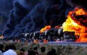В Сирии уничтожена нефтяная колонна ИГИЛ(Видео)