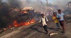 Теракт в Сомали унес сотни жизней (Видео +18)