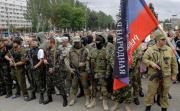В Москве ополченцы  ДНР наехали на нациков (Видео)