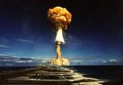 Испытания ядерной бомбы в США (Видео)