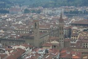 Et une vue magique sur Florence