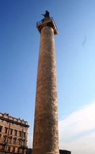 La colone Trajane, pour célébrer l