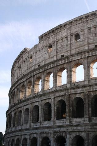 L'incontournable: le Colisée, en travaux d'un peu partout, mais out de meme impressionant.