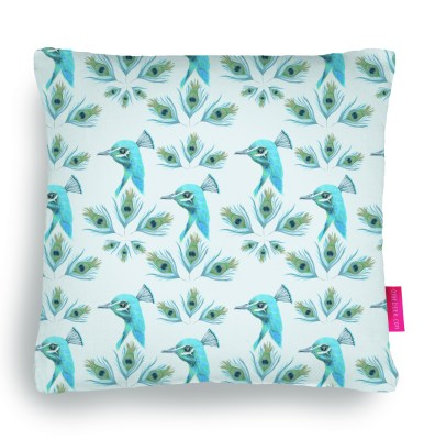 peacock pillow by youdesignme