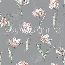tulips-on-grey