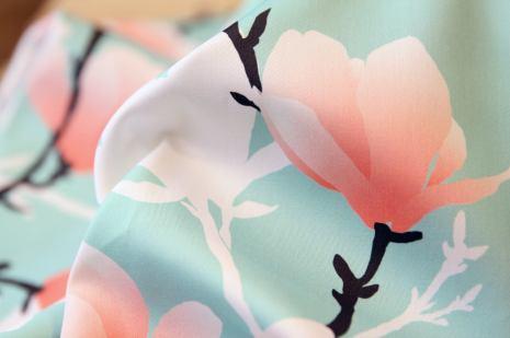 magnoliatree fabric by youdesignme_closeup