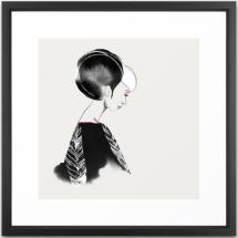 Jolene-framed print