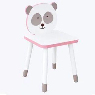 Kinderstuhl Aus Holz Zum Bemalen 29 X 53 Cm Kleiner Panda