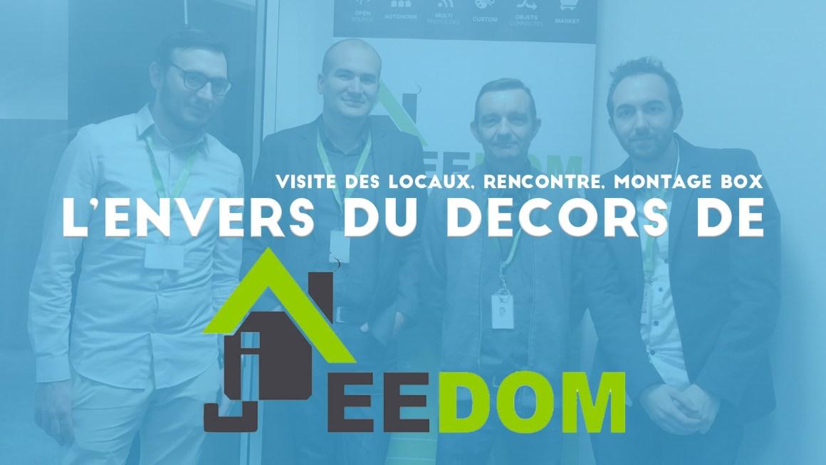 Jeedom : Visite des locaux et foire aux questions