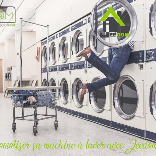 Domotiser sa machine à laver avec Jeedom