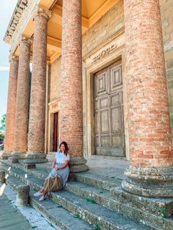 columns in montalcino