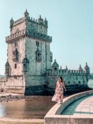 jenny chu belem tower Travel to Lisbon On A Budget