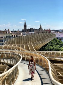 metropol parasol seville 4 Days in South Of Spain